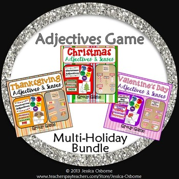 Adjectives Game Bundle