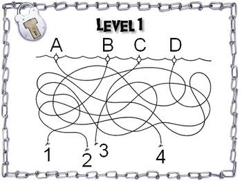 Adjectives: Grammar Escape Room - ELA (Parts of Speech Game 3rd - 4th Grade)