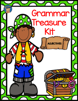 Adjectives Grammar Treasure Kit