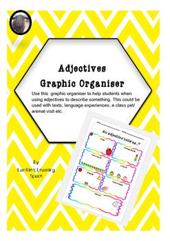 Adjectives Graphic Organiser