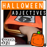 Adjectives Halloween Feely Box
