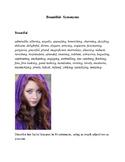 Adjectives Handout- PDF