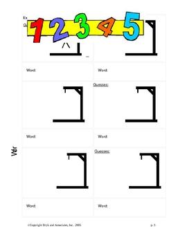 Adjectives:  Hangman (English and Spanish)