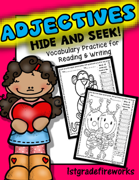 Adjectives...Hide and Seek