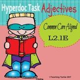 Adjectives Hyperdoc