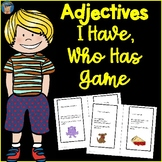 Adjectives I Have, Who Has Game
