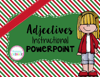 Adjectives Instructional PowerPoint