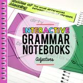 Adjectives Interactive Grammar Notebook