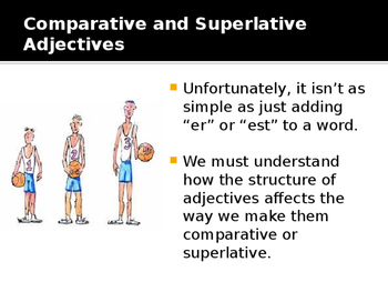 Adjectives Interactive Powerpoint Lesson