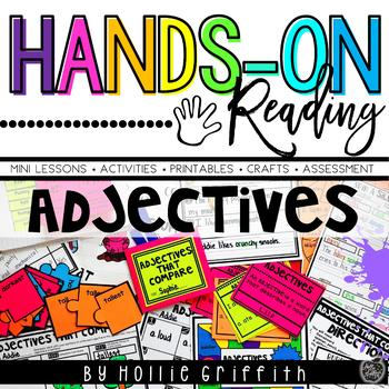 Adjectives L.1.1.F {Hands-on Reading}