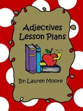 Adjectives Lesson Plans (1 Week)