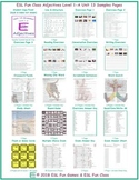Adjectives Level 1-A Unit 13 Bundle