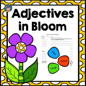 Adjectives Literacy Center