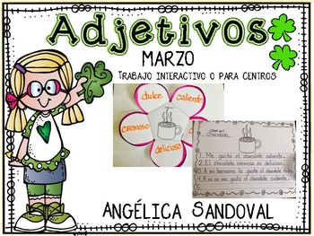 Adjectives March Adjetivos marzo