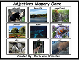 Adjectives Memory Game