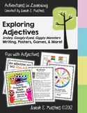 Adjectives - Monster Theme - Adjective Posters, Activities & Games