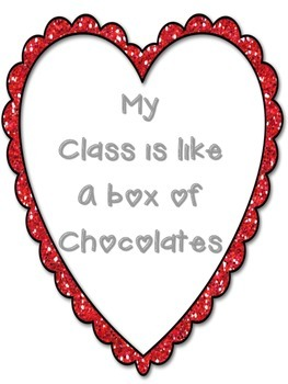 Adjectives - My Class is Like a Box of Chocolates
