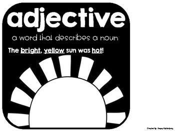 Adjectives {No Prep Practice}
