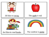 Adjectives, Nouns and Verbs