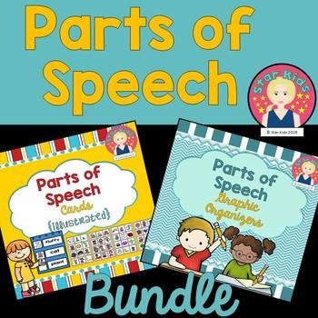 Adjectives, Nouns, and Verbs BUNDLE