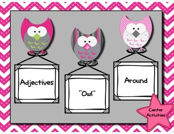 "Adjectives ""Owl"" Around"