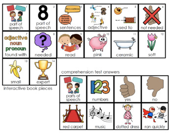 Adjectives Parts of Speech Adapted Book [Level 1 and Level 2]