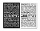 Adjectives, Parts of Speech Poster for Secondary Classroom
