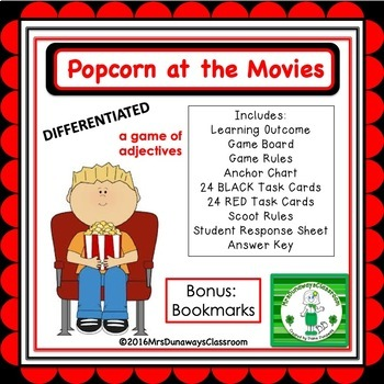 Adjectives:  Popcorn at the Movies