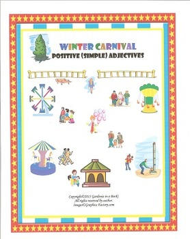 Adjective Unit: Winter Carnival! Positive (Simple) Adjectives