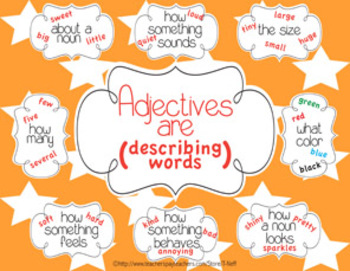 Adjectives Printable