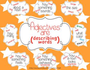 Adjectives Printable