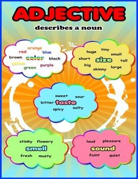 Adjectives Describes a Noun