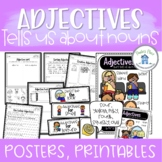 Adjectives Posters Worksheets and Activities