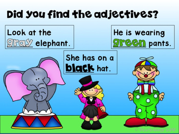 Adjectives Power Point