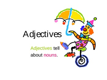 Adjectives PowerPoint 2