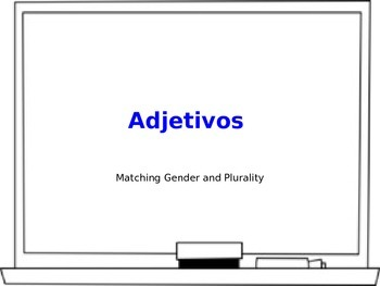Adjetivos (Adjectives) PowerPoint Notes