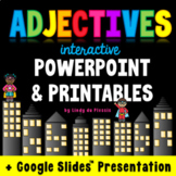 Adjectives PowerPoint and Worksheets