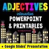 Adjectives PowerPoint / Google Slides, Worksheets, Poster & More!