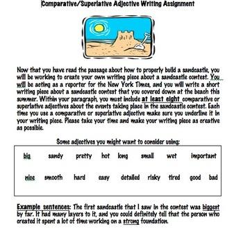 Adjectives Practice