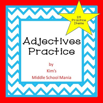 Adjectives Practice and Review