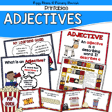 Adjectives  Printables
