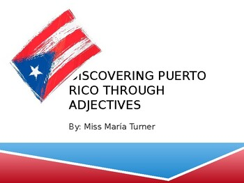 Adjectives Puerto Rico