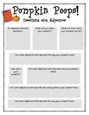 Adjectives- Pumpkin Peeps Activity