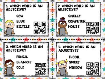 Adjectives QR Code Activity