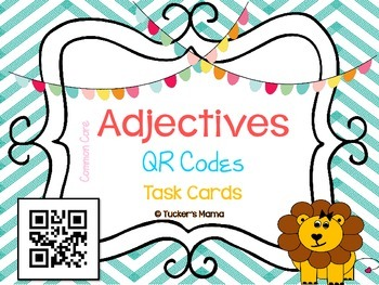 Adjectives QR Codes