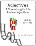 Adjectives Review Unit