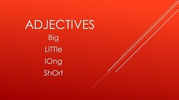 Adjectives SMART Activity