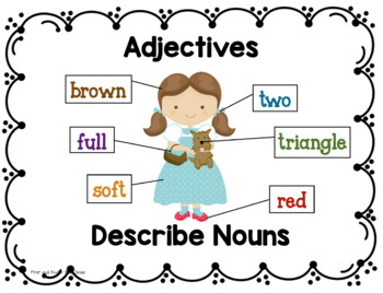 Adjectives Say Things!