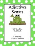 Adjectives - Senses Task Cards