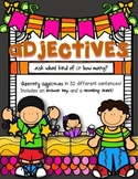 Adjectives Center Activity